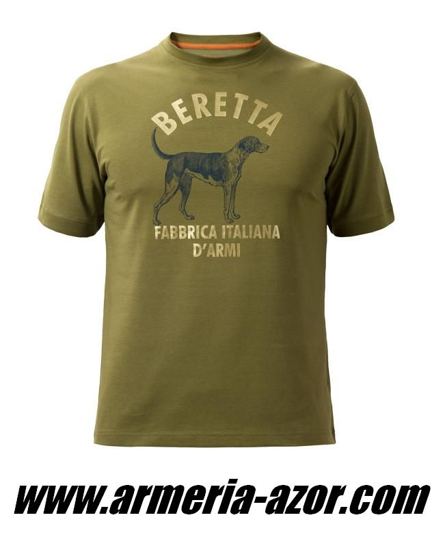 Camiseta Beretta Dog T-shirt Avocado